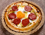 Turkish Sausage and  Egg