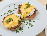 Egg Benedict bacon