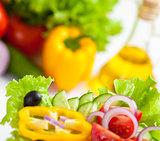 healthy food vegetable salad