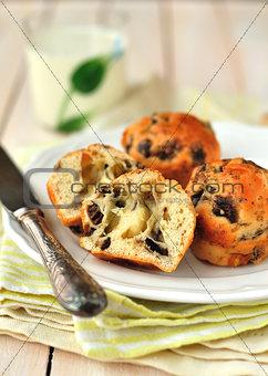 Cheese and Mushroom Muffins