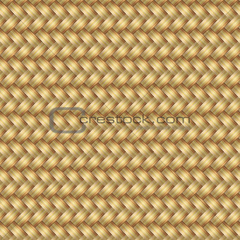 Abstract generated wicker pattern seamless mat background