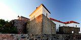 castle of Polanok located in city of Mukachevo Ukraine.