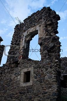 Castle ruins Nevitsky