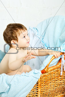 Child in Cradle