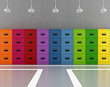 Colorful archive