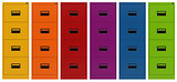 Colorful Filing cabinet