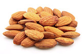 Dry almonds