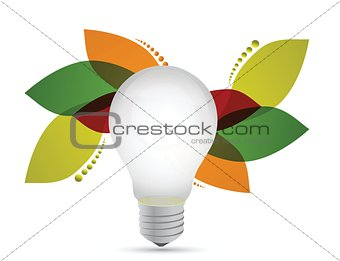 floral lightbulb