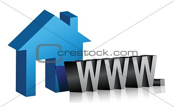 web connection at home