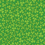 Seamless Green on Green Shamrocks