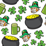 Seamless St. Patricks Day Stuff