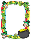 Saint Patricks Day Border