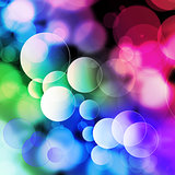 Movement Colorful bubbles