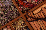 Cinnamon Sticks, Vanilla Pods and Spices