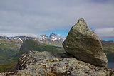 Rock on summit