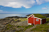 Red hut
