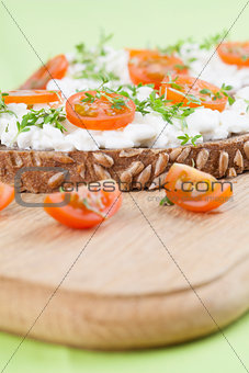 Cottage cheese snacks