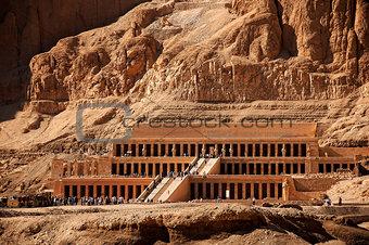Queen Hatshepsut temple in ancient Egypt