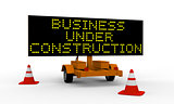 Business under construction