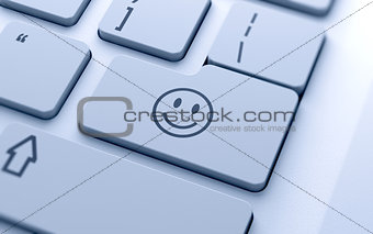 smile icon button