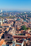 panoramic view of Bologna