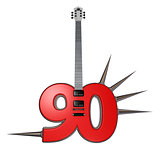 number ninety guitar
