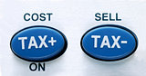 Determine the cost and tax from a calculator