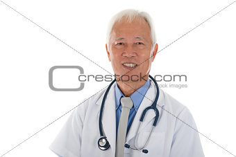 senior asian medical officer