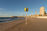 Benidorm beach