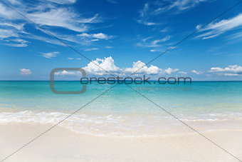 Beach on Bantayan island, Philippines