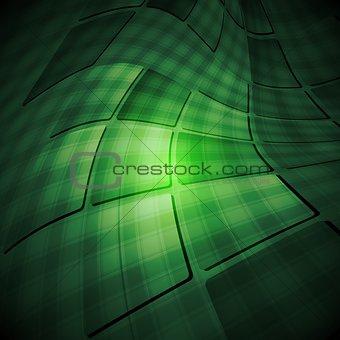 Dark tech abstract background