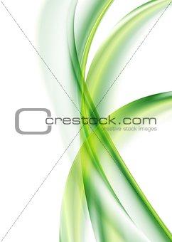 Colourful wavy design