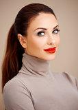 Beautiful glamorous young woman