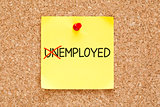 Employed Not Unemployed Sticky Note
