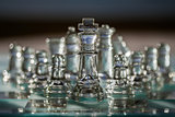 Chess pieces - business concept series: strategy, team, success.