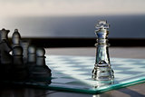 Chess Kings as Business Concept - strategy, be seen, advertising..