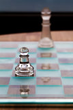 Pawn and King Chess Pieces - Business Concept - strategy, mentor.