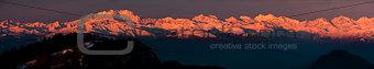 Sunrise, Monte Rosa