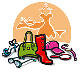 Women accessories  and clothes