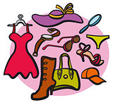 Women clothes and accessories