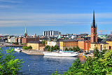 Stockholm, Island Riddarholmen