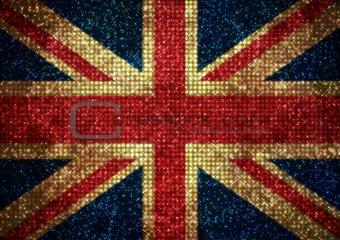 Bling UK Flag