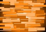 Bright orange concept background