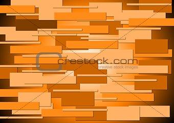 Bright orange concept background