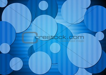 Modern tech vector background
