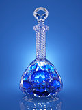 Crystal bottle of poison