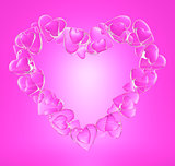 Pink heart