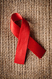red ribbon aids awareness