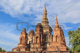 Sukhothai historical park, the old town