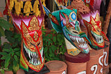 Thai masked festival
